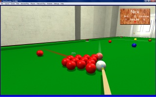 3D QuickSnooker screenshot